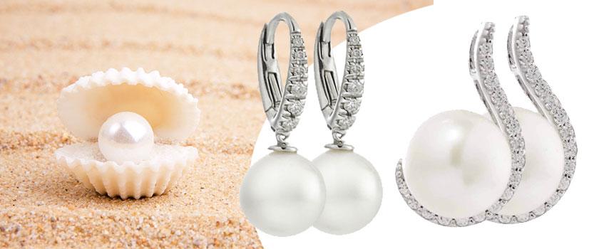 Orecchini di perle eleganza che non tramonta mai